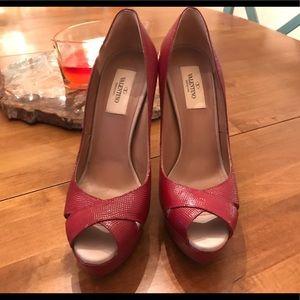 Valentino Dark Red, High Heels
